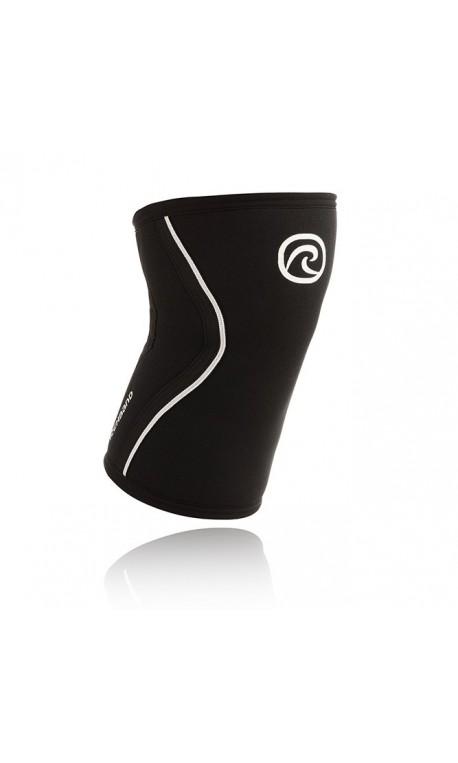 Genouillere haltérophilie Rehband 5mm Noir