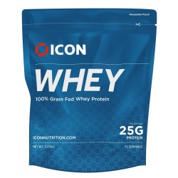 Protéines MOLTEN CHOCOLATE - 2270 Gr WHEY ICON
