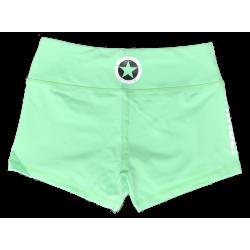 Short femme vert SEA FOAM pour athlète by SAVAGE