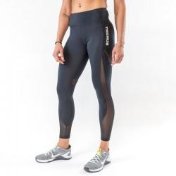Legging AJOURE Femme noir pour athlète by THORUS