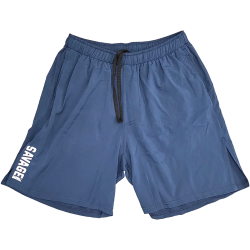 Short NAVY blue COMPETITION for men - SAVAGE BARBELL