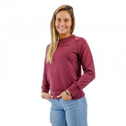 BIO woman red sweatshirt for athlete by THORUS