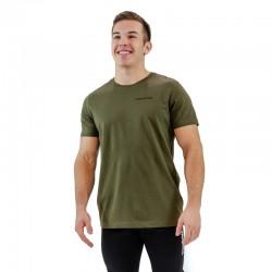 T-shirt homme vert kaki BIO pour athlète by THORUS WEAR