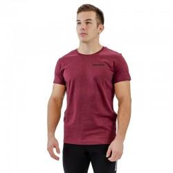 T-shirt red wine BIO for men - THORUS
