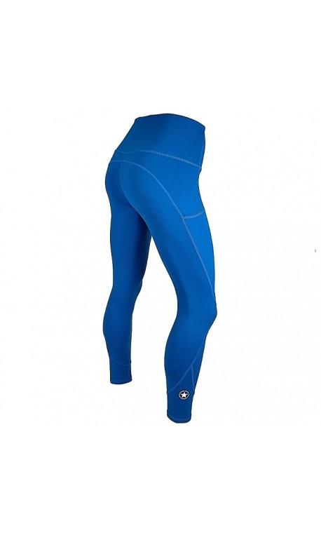 Training legging blue ATLANTIS for women - SAVAGE BARBELL