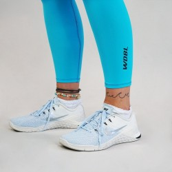 Training legging blue AQUA for women - WODABLE