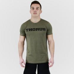 T-shirt homme vert kaki pour athlète by THORUS WEAR