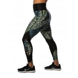 Training legging 7/8 jigh waist multicolor GLAMOUR for women - NORTHERN SPIRIT