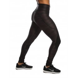 Training legging black CAMOUFLAGE for women - NORTHERN SPIRIT