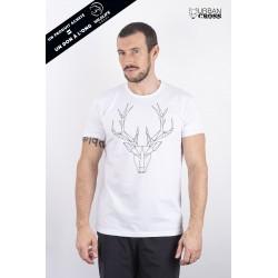 Training t-shirt white POLYGON DEER | URBAN CROSS