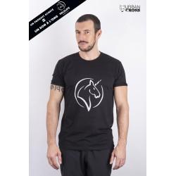 Training T-Shirt Black UNICORN for men | URBAN CROSS