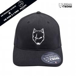 Black SCARED WOLF cap | URBAN CROSS
