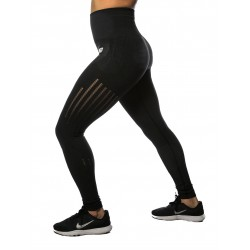 Training legging dark grey high waist SEAMLESS for women | NORTHERN SPIRIT