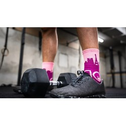 Multicolor workout socks GUSTAVE | SOCK OF THE DAY