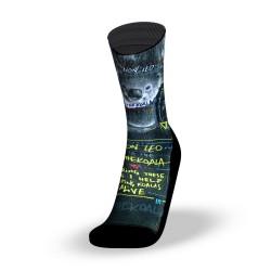 Multicolor workout socks KOALA [LION LEO] | LITHE APPAREL