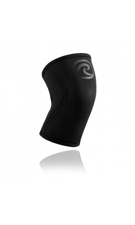 5 mm pair of Knee Sleeves Black and Carbon | REHBAND