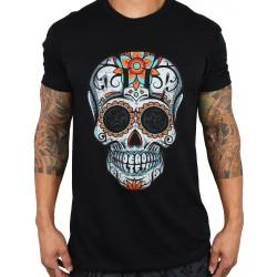 T-shirt black DIA DE LES DEADLIFTS SCRIPT for men | PROJECT X
