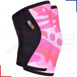 5 mm pair of Knee Sleeves PINK CAMO | ROCKTAPE