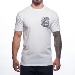 T-Shirt Homme blanc HENDRICKS| PROGENEX