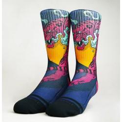 Multicolor workout CRAZY TIGER X SKORP SOCKS – WODABLE
