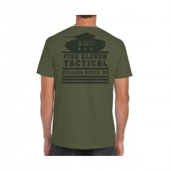 T-shirt Homme vert ROLLING PANZER 2020 | 5.11 TACTICAL