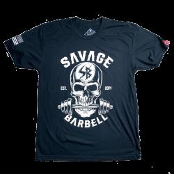 T-shirt black BITE ME for men | SAVAGE BARBELL