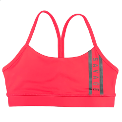 Training bra red VIPER SQUAD for women | SAVAGE BARBELL