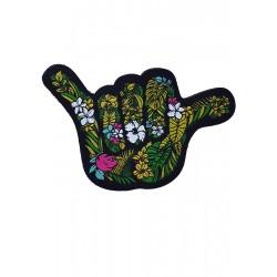 Velcro backing multicolor woven patch OHANA SHAKA | PROJECT X