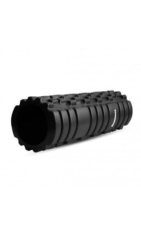 Black foam roller PRO 33 cm  THORN FIT