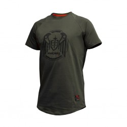 Training T-Shirt green WINGS ARMY GREEN for men | THORN FIT