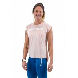 T-shirt femme PEACH manches retroussées | THORUS WEAR