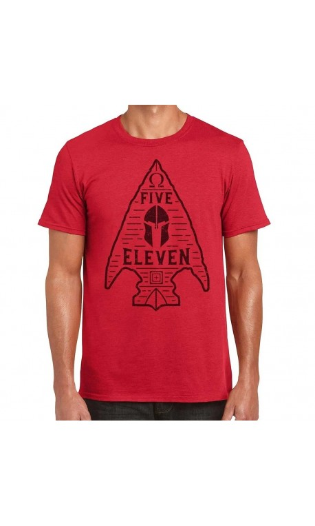 T-shirt red SPARTAN ARROWHEAD 2020 Q3 for men | 5.11 TACTICAL