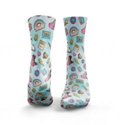 Multicolor workout 90'S BABY socks – HEXXE SOCKS