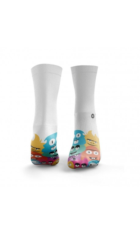 Multicolor workout LITTLE MONSTERS socks – HEXXE SOCKS