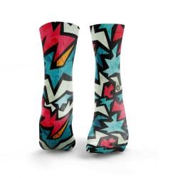 Multicolor workout FIZZER socks – HEXXE SOCKS