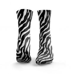 Multicolor workout ZEBRA black & white socks – HEXXE SOCKS