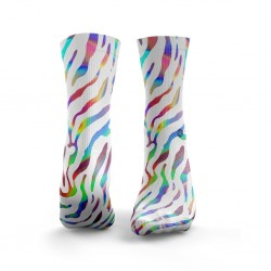 Chaussettes multicolores ZEBRA multicoloured | HEXXE SOCKS