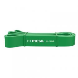 Bandes de résistance musculation vert 22 à 56 kg | PICSIL
