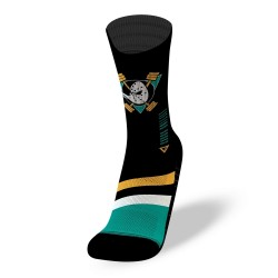 Black workout socks LIFTING DUCKS | LITHE APPAREL