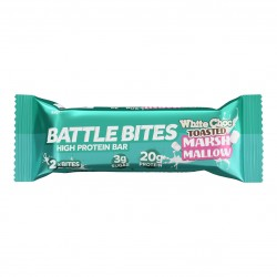 Protein bars + WHITE CHOCOLATE TOASTED MARSHMALLOW | BATTLE SNACKS