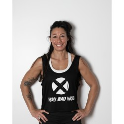 Training tank charcoal black UNICORN SOLDIER for women | VERY BAD WOD