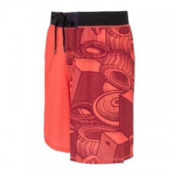 Short homme Rouge Heavy Shorts - Light Red   XOOM PROJECT