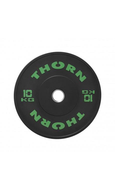 10 KG Bumper Plate | THORN+FIT EQUIPMENT