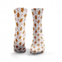Multicolor workout GINGERBREAD MEN socks – HEXXEE SOCKS