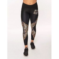 Training legging 7/8 jigh waist multicolor LEOPARD for women | NORTHERN SPIRIT
