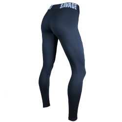 Legging femme TAILLE SAVAGE noir ANKLE LENGTH   SAVAGE BARBELL