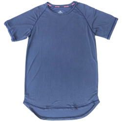 T-shirt blue STEALTH PERFORMANCE for men | SAVAGE BARBELL