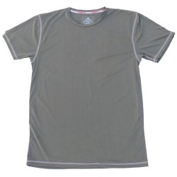 T-shirt green STEALTH PERFORMANCE STRAIGHT for men | SAVAGE BARBELL