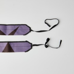 Unisex Wrist Wraps purple power dirt | PICSIL