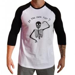 Baseball T-shirt unisexe noir FLEX  VERY BAD WOD x WILL LENNART TATOO